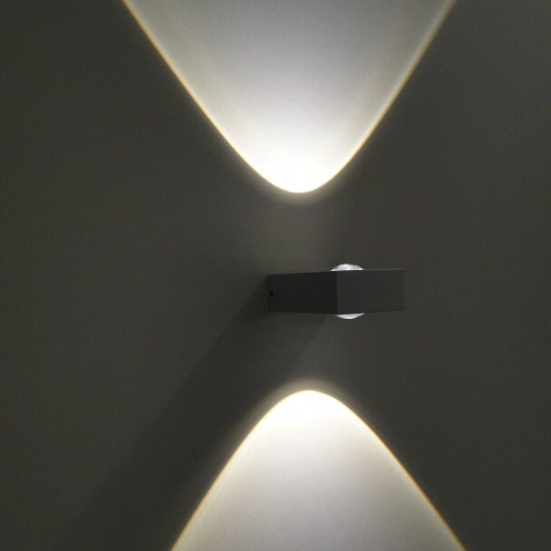 Wall light – exterior LED Pop - white
