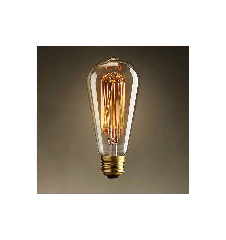 Classic incandescent bulb e27 40w warm white - Grosse ampoule decorative ...