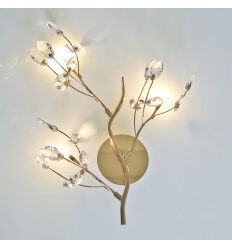 Crystal sconce trend - Ebensee