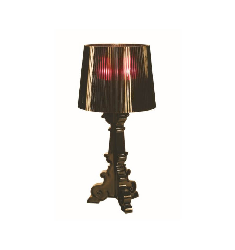 Bedside Lamp Baroque Black 2xe14 Cello