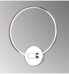 Wall light - design chrome LED - Collection Circle