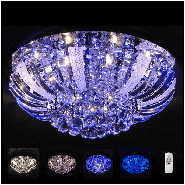Ceiling light - crystal LED Las Vegas (60 cm)