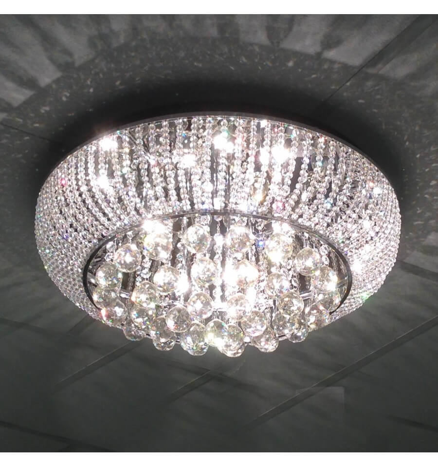 Ceiling Light Crystal Modena 60cm