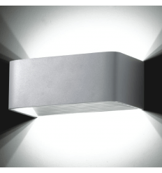 Wall light - LED design rectangle Quadra 6x1W - 20cm