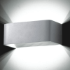 Wall light - LED design rectangle 6x1W - 20cm