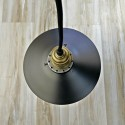 Pendant light - retro design 1xE27 mirror interior Velina