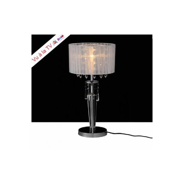 Table lamp - chrome/crystal Elise