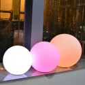 Illuminated ball 60cm LED wireless waterproof rechargeable
