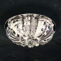 Ceiling light - crystal LED Las Vegas (Ø 45 cm)