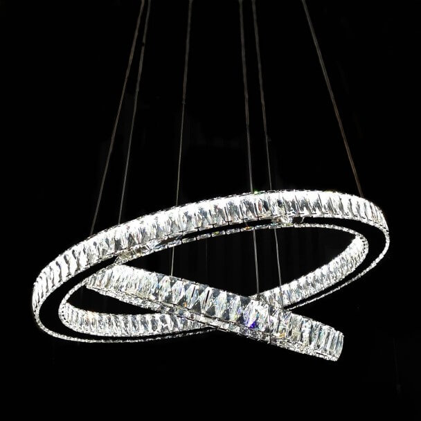 Pendant light design cristal LED Ambrogio