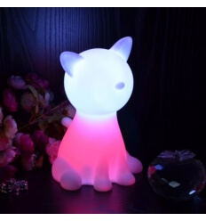 Table lamp - cat LED cordless multicolours