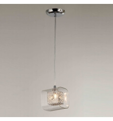 Pendant light - design chrome - Collection Calluna