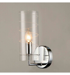Wall light - design tube glass (E14) Edell