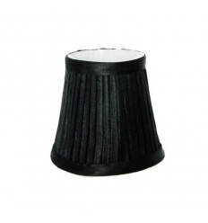 Lampshade - black DESIGN for chandelier or Wall light - HELENA