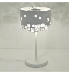Lamp - design crystal/metal Beline