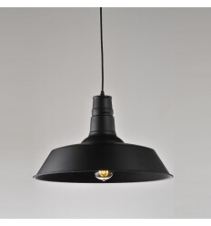 Pendant light - design black XENA