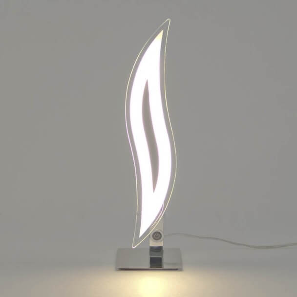 Table lamp - design chrome LED Flama