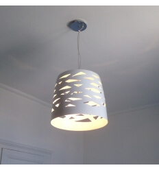 Pendant light - design white Lorma