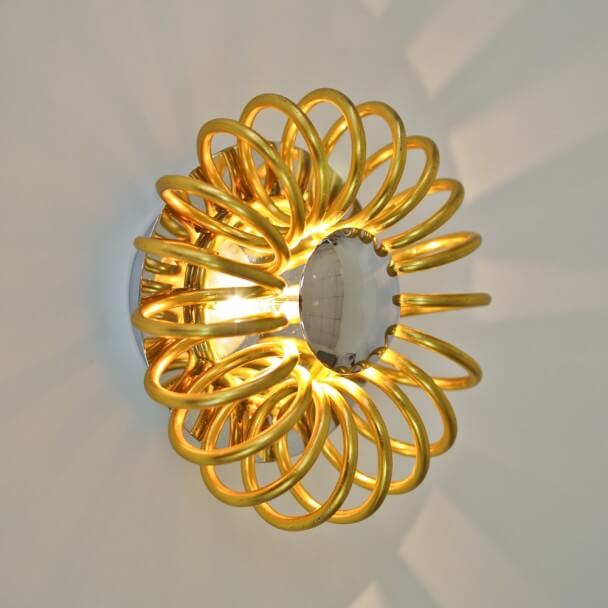 Wall light - design golden FLOR