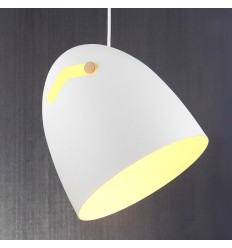 Pendant light - design white - Tsim