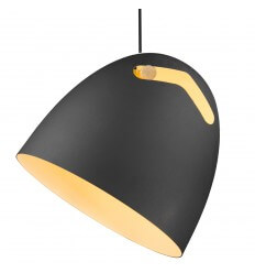 Pendant light - design black - Tsim