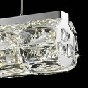 Pendant light - LED crystal cynlindrical bar design - Kuna