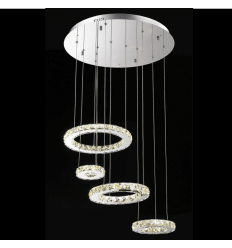 Design chandelier LED crital - Goya