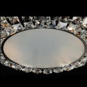 Ceiling light - chromed crystal design - Hanna