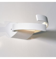 Wall light - LED aluminium design 2 Light round - Arca