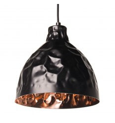 Pendant light - copper black design - Talia