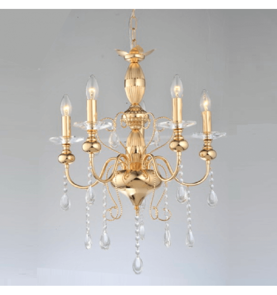 Renaissance chandelier buy cheap classic and baroque chandelier chandelier 5 light gold classical crystal with pendant aloadofball Images