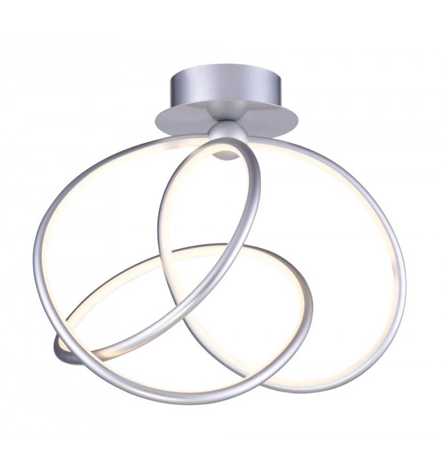 Modern ceiling light acrylic looper kosilight for Led deckenleuchte modern