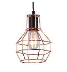 Pendant light - metal copper design - Fera