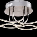 Ceiling light - LED nickel satin silver design (40 W)