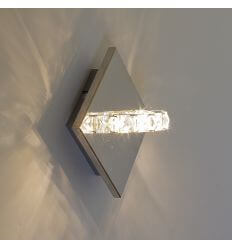 Wall light - LED crystal ring design - Spotlight