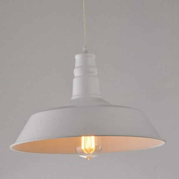 Pendant light - design white XENA