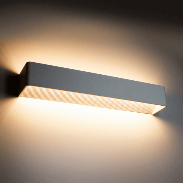 Wall light - LED design rectangle 12x1W - 37cm