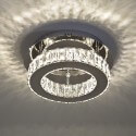Ceiling light - LED crystal circle design (ø 30 cm) - Diez