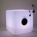Light Up Cube - LED & Bluetooth Speakers 30 cm