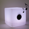 Illuminated Cube 30cm LED multicolour - bluetooth speaker