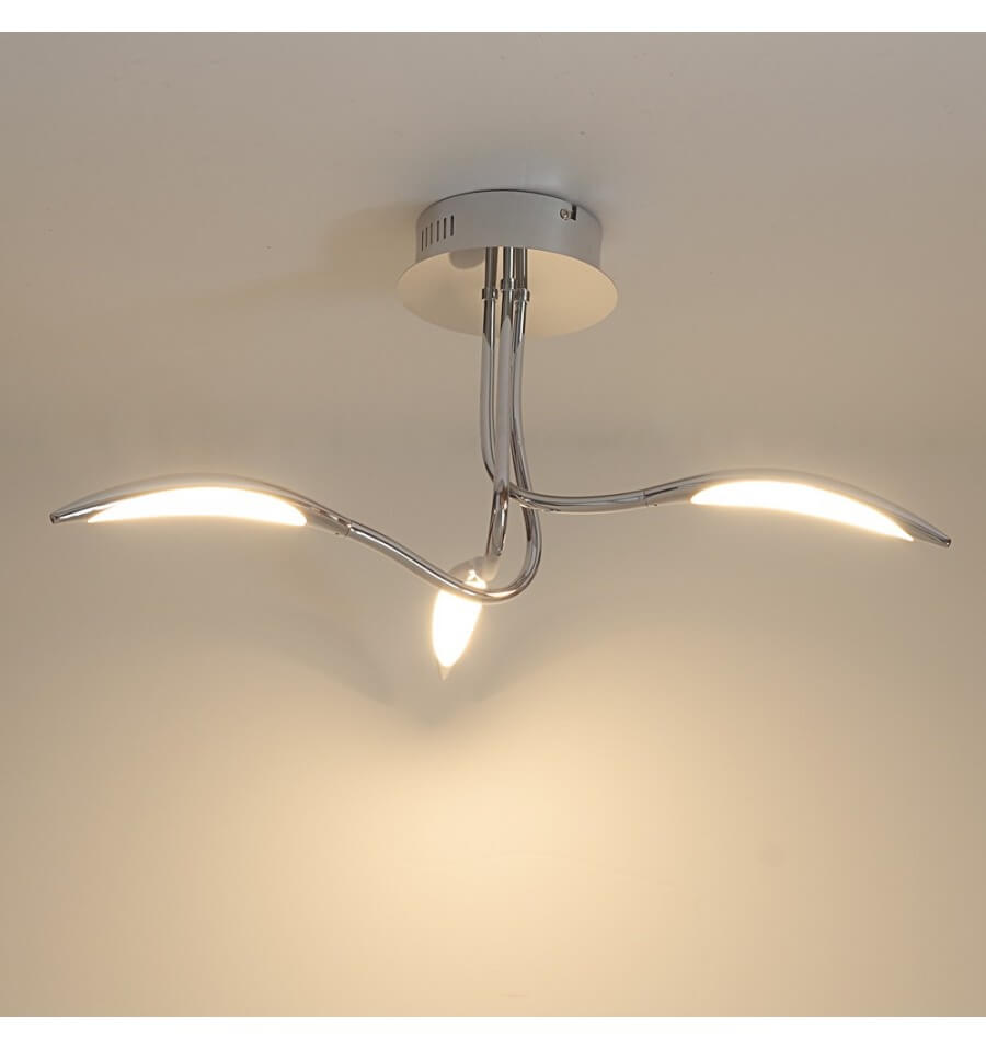 Futuristic Ceiling Light 3 Arms Arco Kosilight Uk