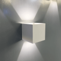 Wall light – white design Cubic