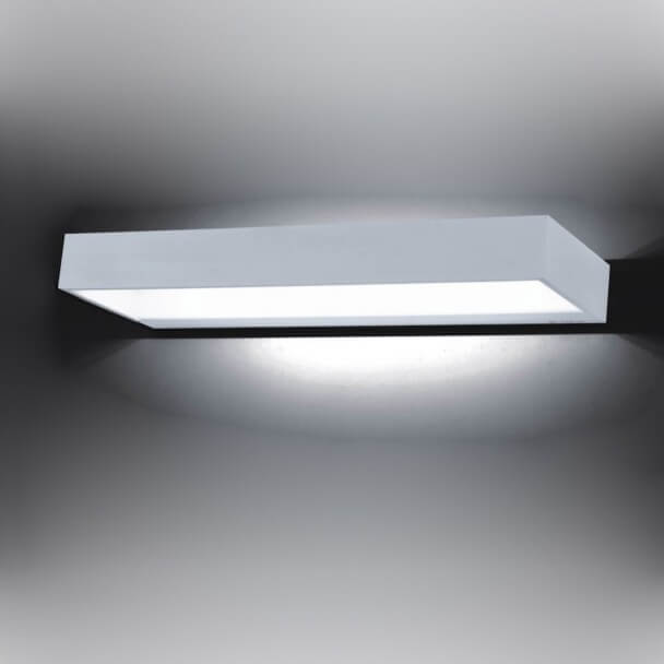 Wall light - LED design rectangle Recto 12W - 40 cm