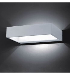 Wall light - LED design rectangle Recto 6W - 20 cm