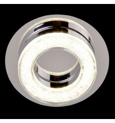 Ceiling light LED crystal circle D16 cm - Vivaldi