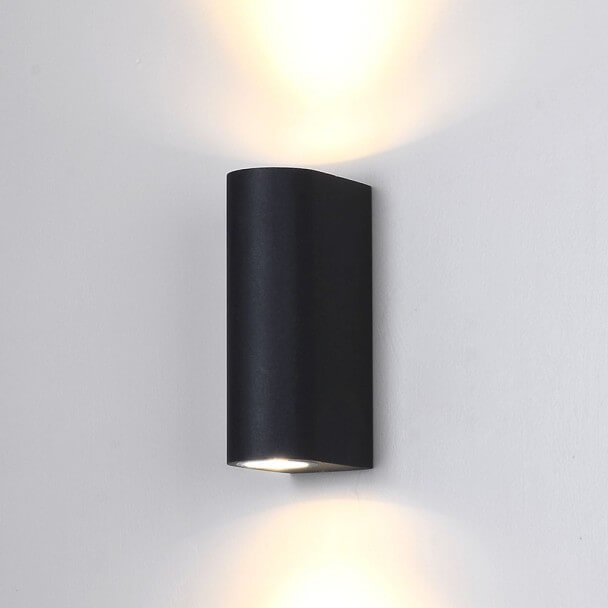 LED Wall light Design black - Epsilon