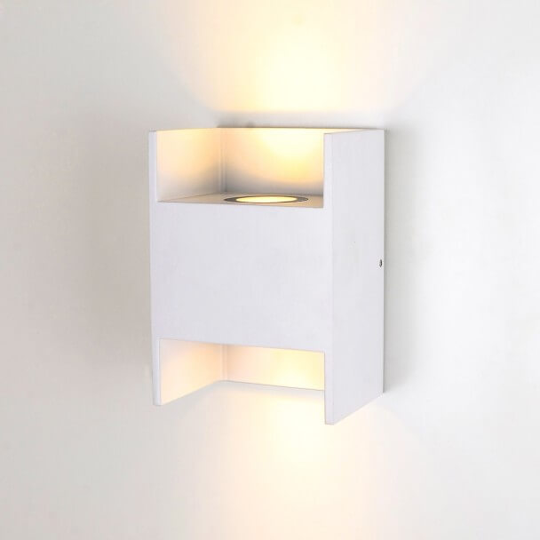 Wall light white design - Locker