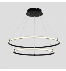 LED pendant light chandelier two rings - Ozzello