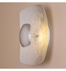 Wall light LED modern silver - Luccio