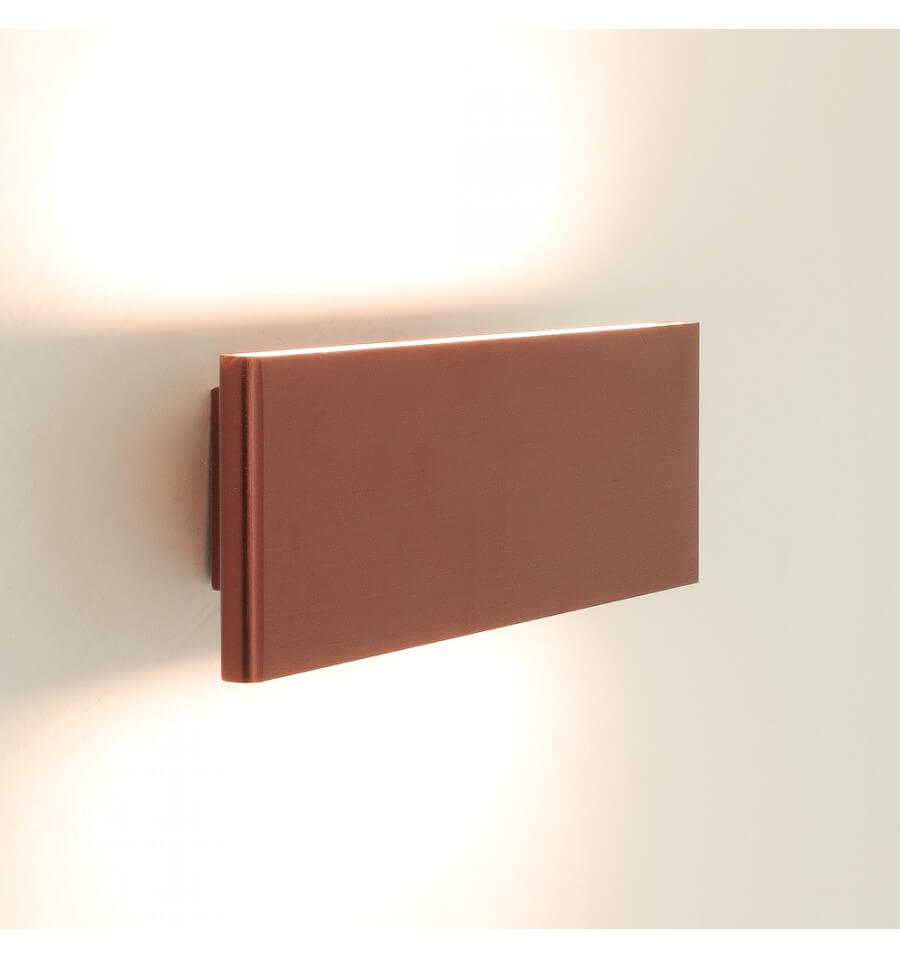 modern lighting led wall light copper cruise. Black Bedroom Furniture Sets. Home Design Ideas